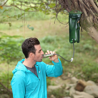 Miniwell Survival Kits Gravity Water Filter Emergency Preparedness for hiking and biking