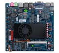 Onboard Core i3-3217u (3 M Cache, 1.80 GHz, 2 Núcleos), 6 * RS232, 1 * GLAN, 10 * USB2.0, VGA, HDMI, LVDS, 2 * MINI-PCIe