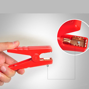 Image 5 - 1PCS 10PCS New Emergency Lead Cable Battery Alligator Clamp Clip For Car Trucks Jump Starter Clamps
