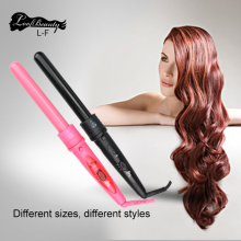 Professional Hair Curling Wand Interchangeable 3 in1 Clipless Ceramic Curler Set Hair Care & Styling Tools Kits