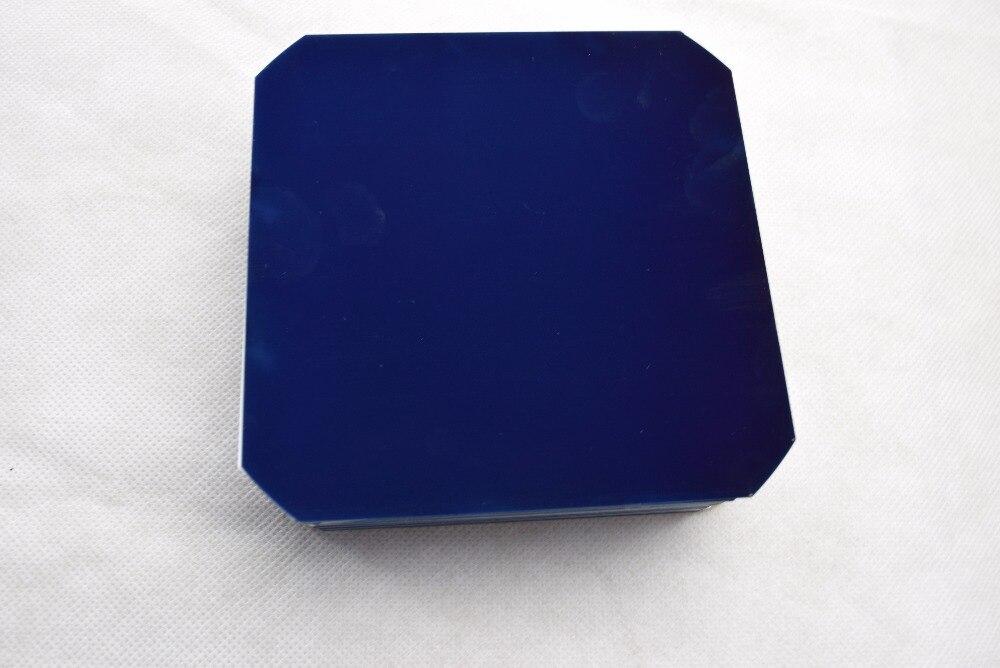 30pcs 125*125mm 22% high efficiency solar cell without busbar for DIY use mono solar module 12V DIY solar panel system kits