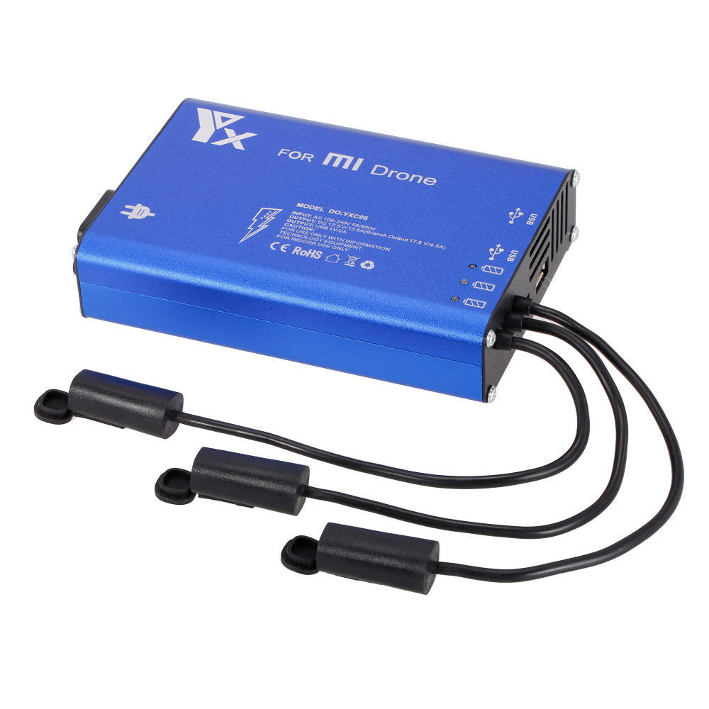 5 en 1 chargeur de batterie Intelligent de moyeu de puissance parallèle pour XIAOMI MI Drone 4 K 1080 P FPV Drone quadrirotor RC chargeur