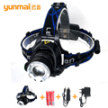2017New 2000Lumen CREE XM-L T6 LED Headlamp Headlight Caming Hunting Head Light Lamp 3 Modes