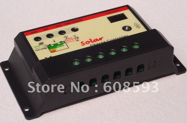 Wholesale! Factory price! 12V 24V auto 15A PWM Solar regulator solar charge controller  for solar panel system/solar streetlight