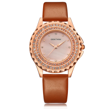 Danish design Glitter Diamond Analog Watch