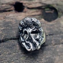 Yggdrasil – bague Viking en acier inoxydable pour hommes, anneau de mythologie nordique, arbre du monde, bijou scandinave, cadeau pour lui