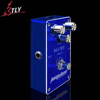 AROMA ABS 1 True Bypass Blues Distortion Electric Guitar Effect Pedal High Gain Output Low Power