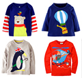 Retail BRAND free shipping2016 new  cotton long sleeve top t-shirt  for baby boys kids chothing full sleeve spring  autumn