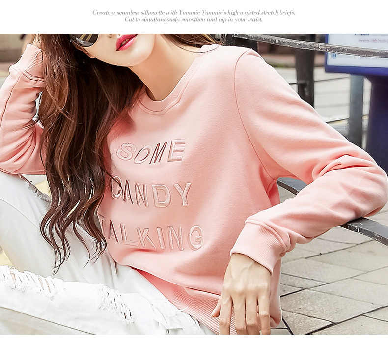 Единорог полный настоящий Kpop панда Женская Бесплатная доставка 2019 Осень Корейская версия вышивки наборы с круглым вырезом рубашки дамы