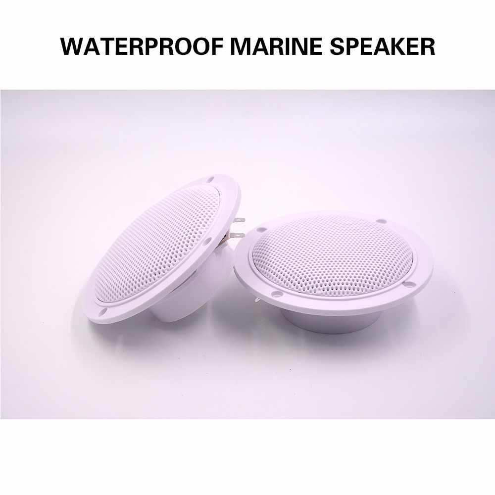 """Водонепроницаемый морской стерео Bluetooth аудио FM AM радио приемник MP3 плеер 5,25 """"колонки для UTV ATV яхты мотоцикла лодки"""