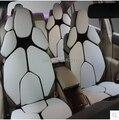 Venta caliente 2015 el más nuevo diseño de coches hechos a mano rojo personalidad de la PU para coche de 5 asientos asiento de coche deportivo cubre accesorios interiores