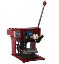 tabletop cheap simple hand hot stamping printing machine