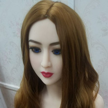 #113 japanese sex doll head for big size male masturbator dolls 135cm/140cm/148cm/153cm/152cm/155cm/158cm/163cm/165cm/170cm