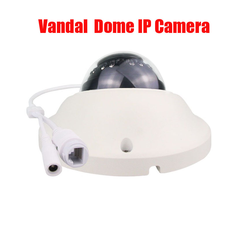 Free Shipping 2MP 3mp h.265 IP Mini vandal Dome camera 1080P CMOS HD Infrared Night Vision CCTV IP Camera IP CAM цена 2017