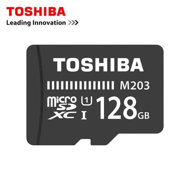 2018 TOSHIBA U1/U3 Memory Card 128GB 64GB SDXC 100M or 90M/s Micro SD Card SDHC-I 32GB 16G Class10 Official Verification
