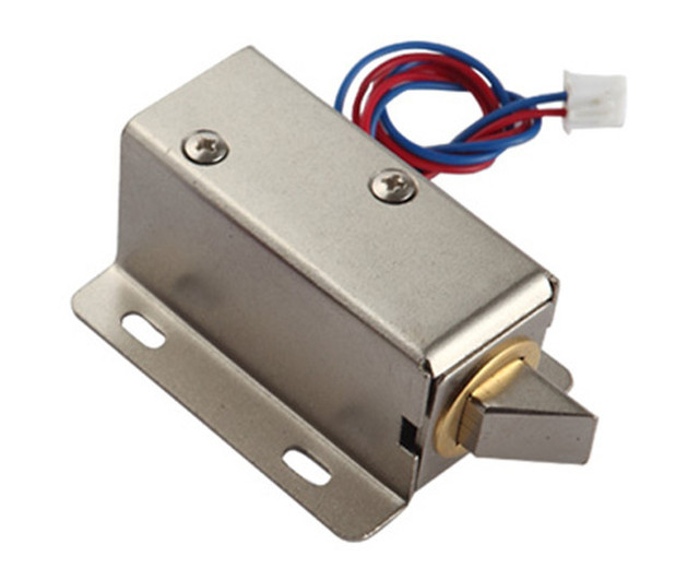 Mini Electric Bolt Lock DC12V/Small cabinet Lock /Solenoid Electric Door Lock  sc 1 st  AliExpress.com & Mini Electric Bolt Lock DC12V/Small cabinet Lock /Solenoid Electric ...