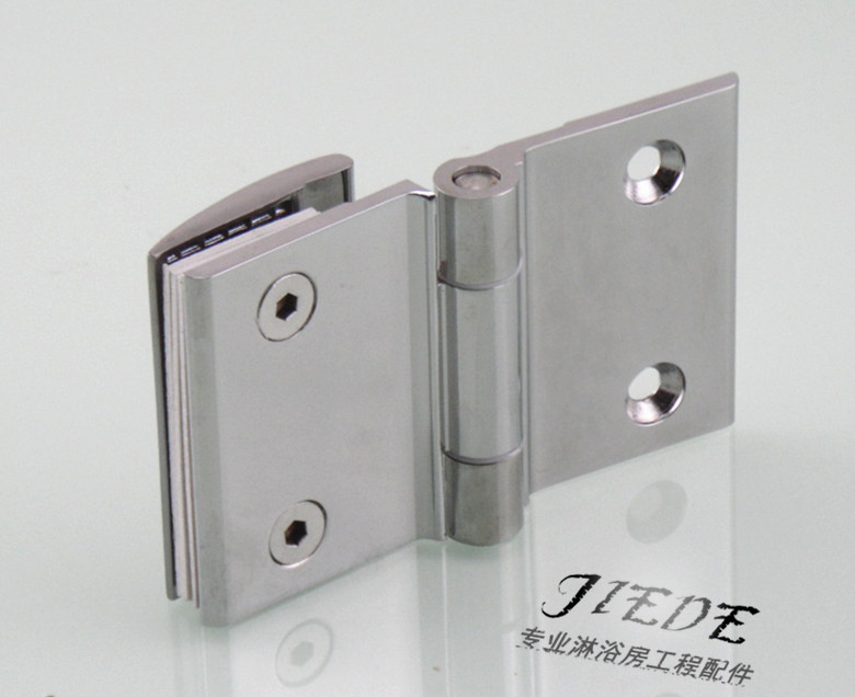 Glass door hinge hinge side compartment glass partition door hinge clip bathroom shower room accessories free hinge