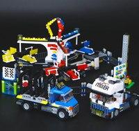 15014 1858Pcs Amusement park The carnival Model Building Blocks Set Compatible CREATOR 10244 Architecture toys gifts