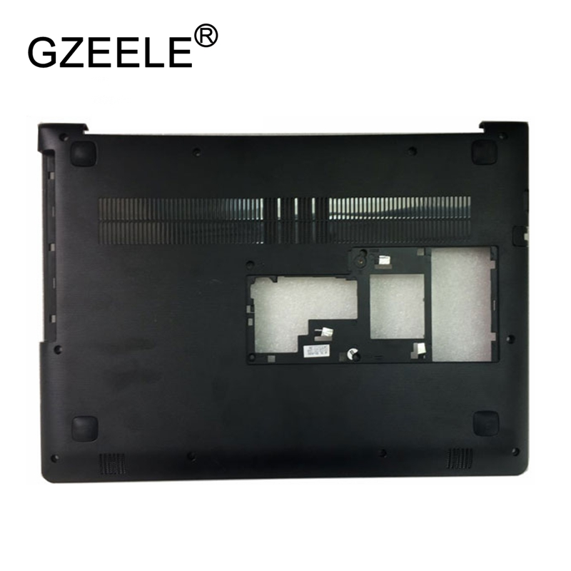 GZEELE New Laptop Bottom Case For Lenovo Ideapad 310-14 310-14ISK Base Cover Lower Shell AP10Q000700 AP10Q000C00