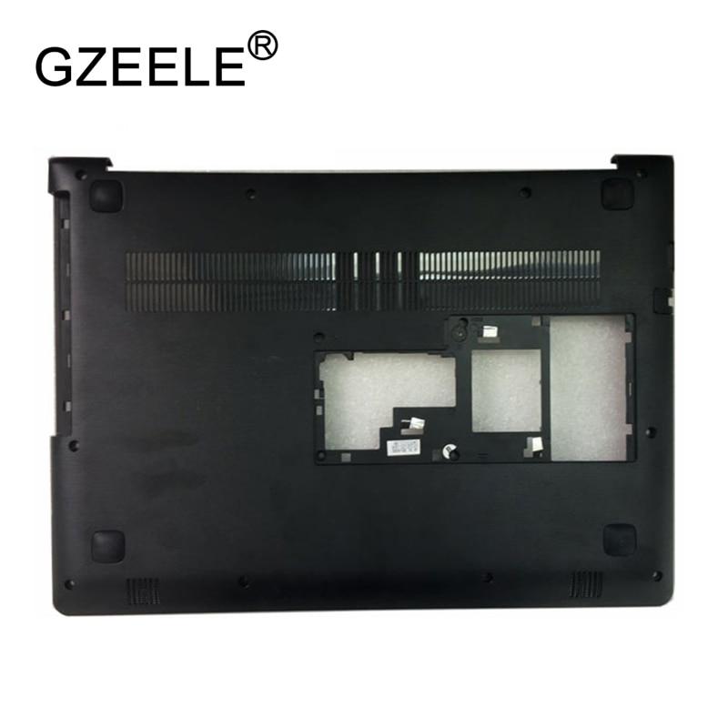 GZEELE New Laptop Bottom Case For Lenovo Ideapad 310-14 310-14ISK Base Cover Lower Shell AP10Q000700 AP10Q000C00