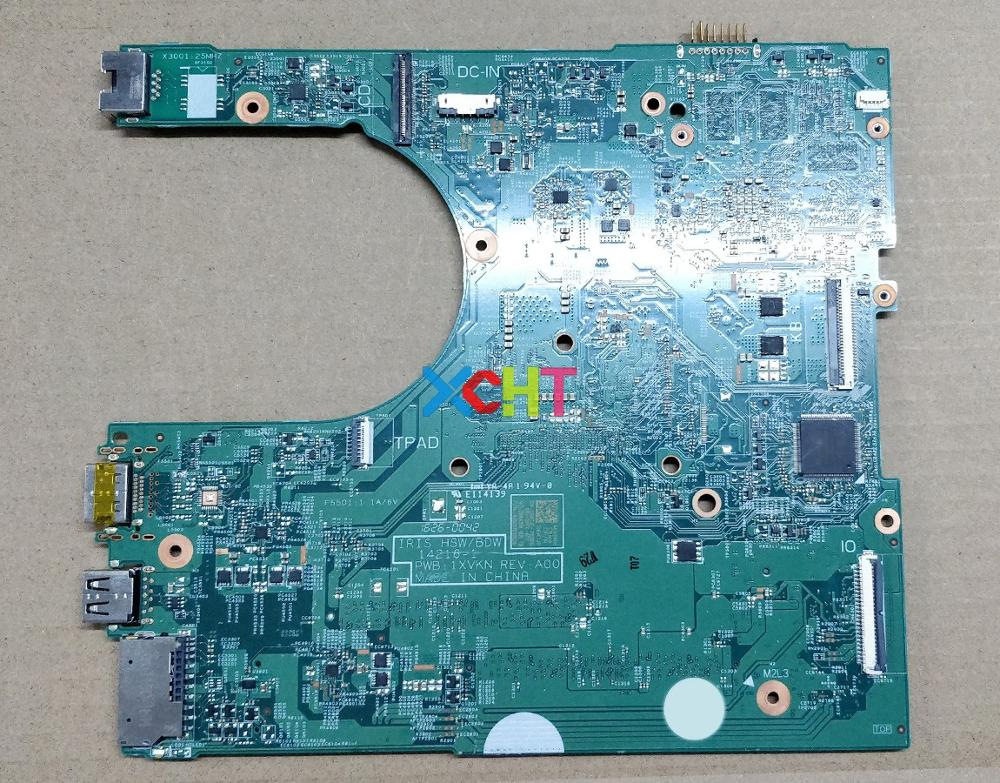 Image 2 - for Dell Inspiron 14 3458 6KTJF 06KTJF CN 06KTJF 14216 1 1XVKN i3 5005U N16V GM B1 GT920M Laptop Motherboard Mainboard Tested-in Laptop Motherboard from Computer & Office