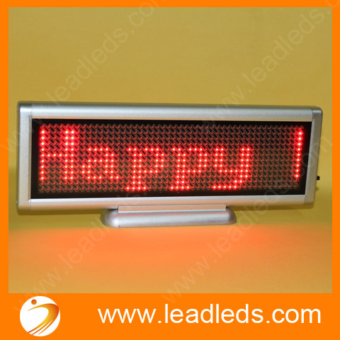 4sets/lot led moving display Red color support multi languages