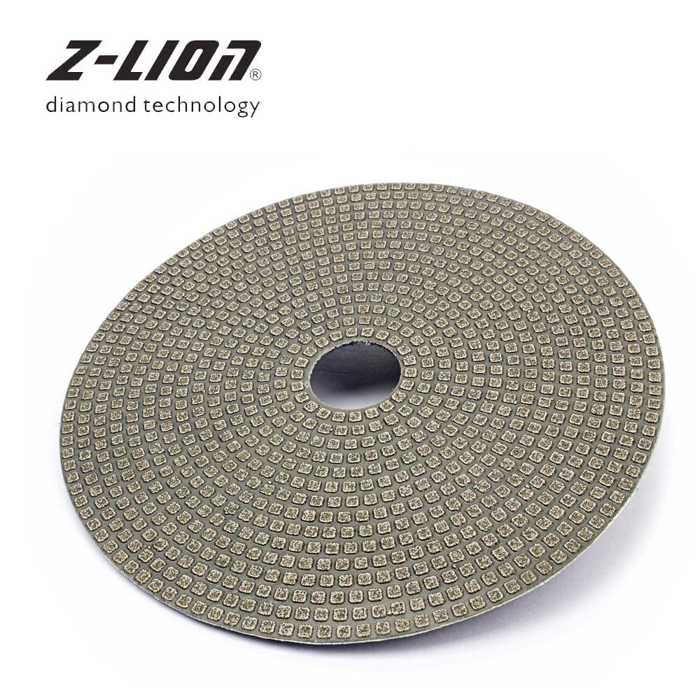 Z LEAP 5 Inch 125mm 1 Piece Diamond Polishing Tool Granite Marble Concrete Glass Ceramic Tile Abrasive Wheel Grinding Disc|Polishing Pads|   - AliExpress