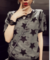 cheap clothes  Fashion  2015 plus size clothing handsome unisex large size t-shirt short-sleeve summer style Sexy clothing