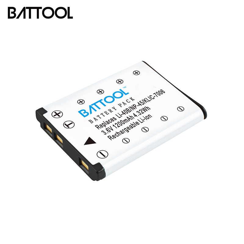 JX200 Batería NP-45 NP45a 900mAh para Fuji FinePix JV205 JV250 JV255
