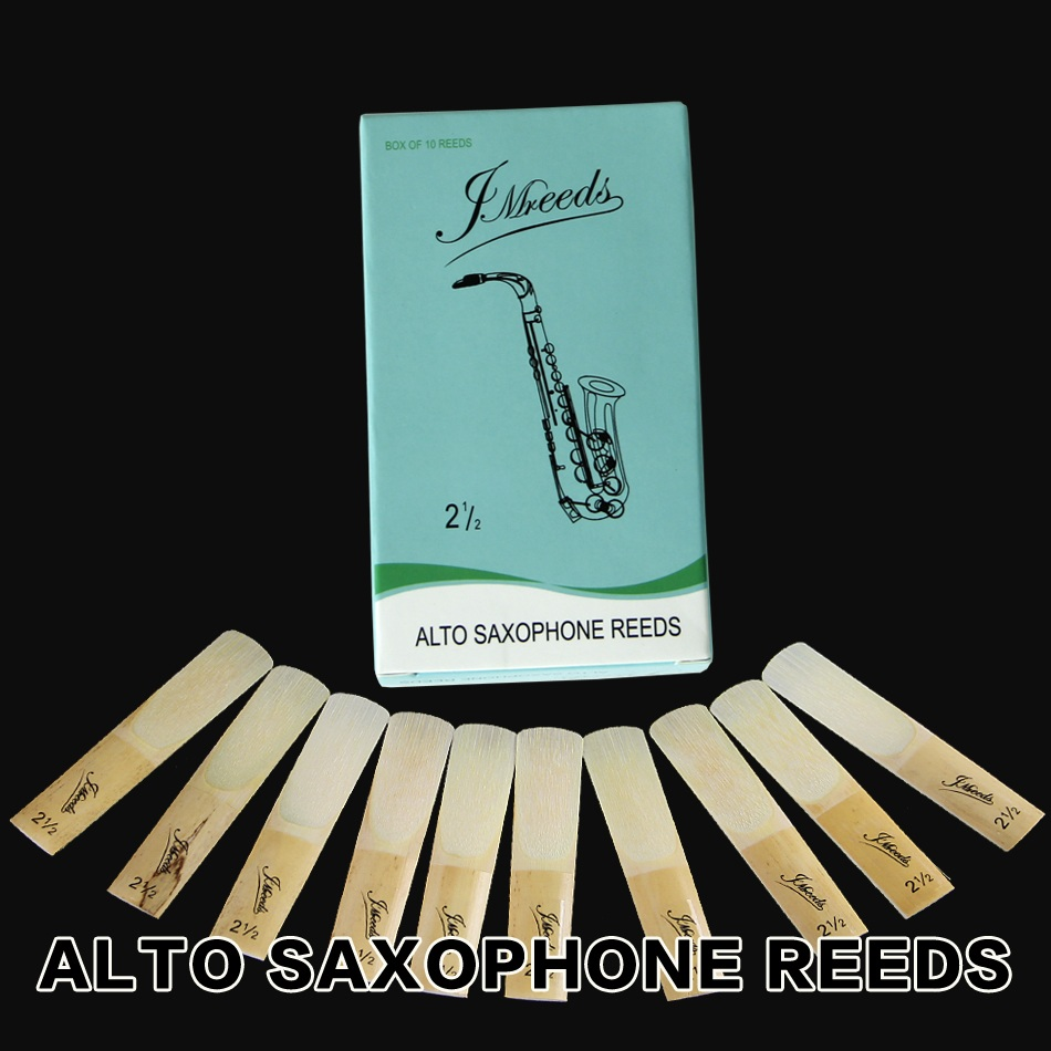 Sax accessories XINZHONG 2 1 2 Alto Tenor Soprano Sax Saxophone Reeds for your choice 10pcs