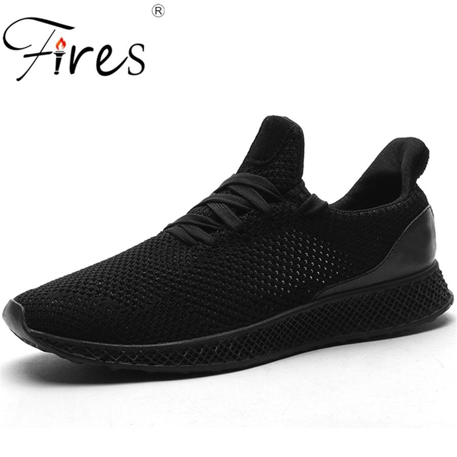 Brande Outdoor Sneakers For Men Professionelle Sports Walking Sko Summer Lightweight Pustende Løbesko Zapatillas / Spatos