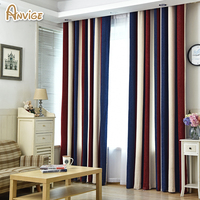 ANVIGE European 4 Color Blackout Curtains For Bedroom Curtains Sets High Quality In The Living Room