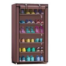 Нетканый стеллаж для обуви 7 ярусов 6 балок большой емкости домашняя мебель DIY простой шкаф