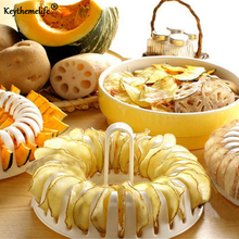 Keythemelife Portable Cooking Tools Healthy DIY Microwave Oven Baked Potato Chips Maker Oven Grill Basket Kitchen Gadgets D4