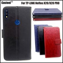 Casteel Classic Flight Series high quality PU skin leather case For TP-LINK Neffos X20 PRO Case Cover Shield