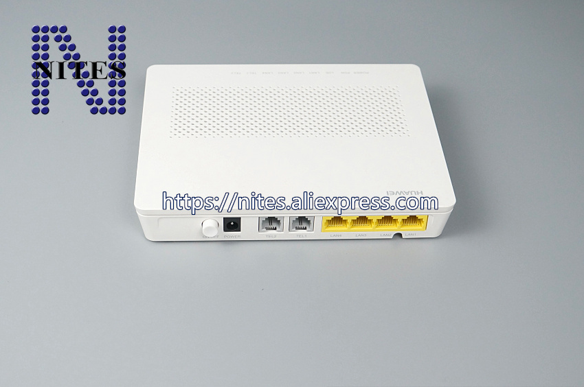 Original New Hua Wei Hg8240h Gpon Ge Ont 4 Ge Port White Color With Route Mode english Interface 2 Voice