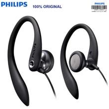 オリジナルフィリップス SHS3305 イヤホンヘッドセット耳かけ型ヘッドフォンスポーツサポートスマートフォン huawei ため Xiaomi