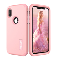 New For Apple IPhone 8 Protect Case Cover Slim Hybrid Dual Layer Shockproof TPU Hard Phone