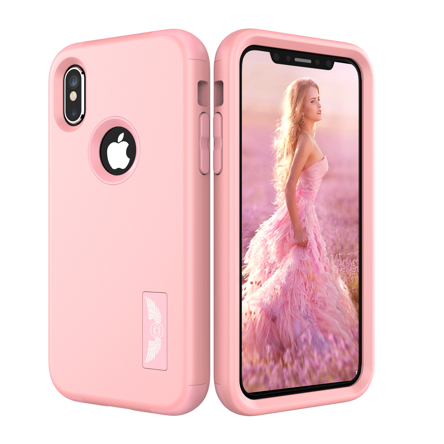 New For Apple iPhone X Protect Phone Cases Hybrid Dual Layers Shockproof TPU+Hard PC Phone Shell Cover for new iPhoneX...  iphone x cases 3 layers New For Apple font b iPhone b font font b X b font Protect Phone font