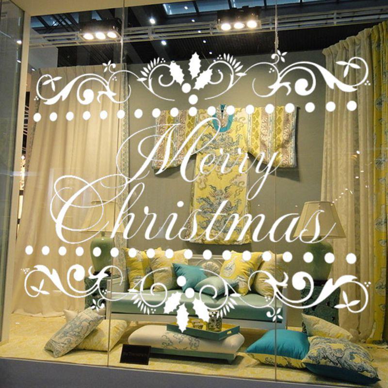 Aliexpress.com : Buy Shop Wall Stickers Grass Wallpaper Christmas ...