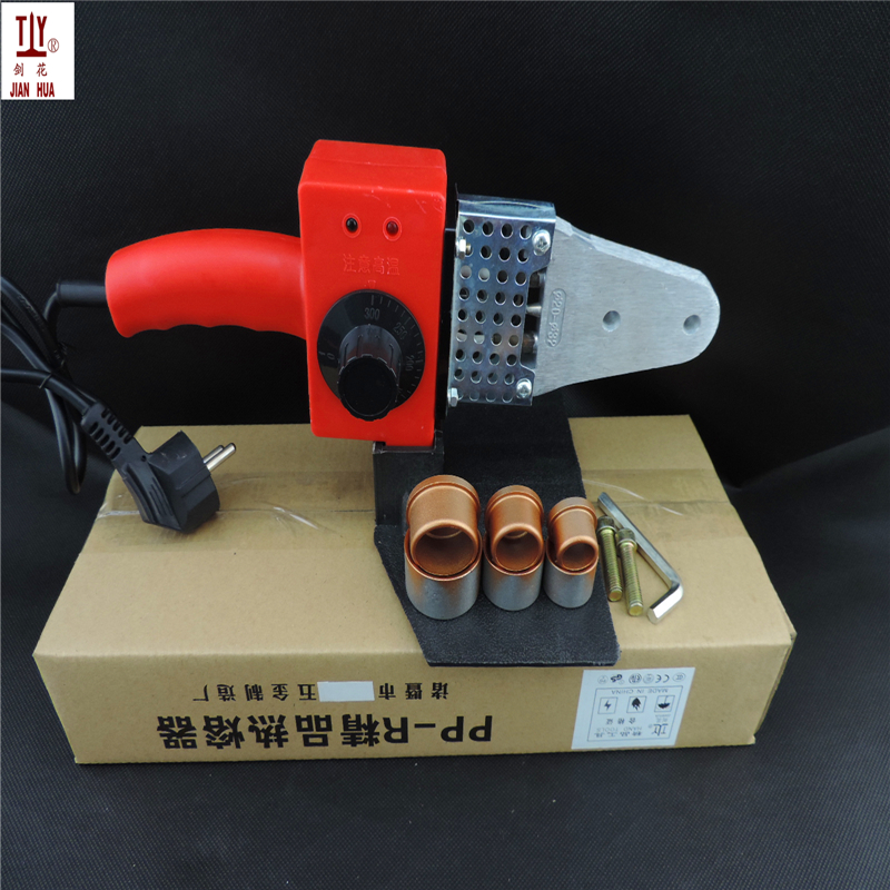 Free Shipping JIANHUA Plastic Pipe Welder, Ppr Welding Machines, 20-32mm AC 220/110V 600W  Pvc Welding Machine Plumbing Tools