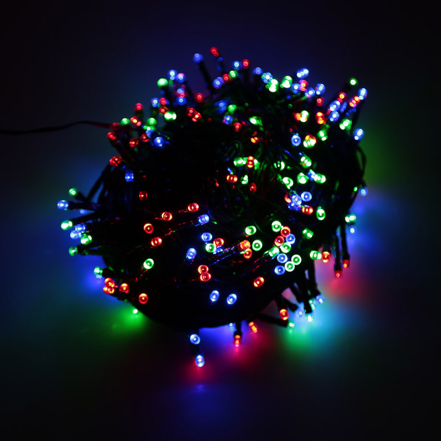 Aliexpress.com : Buy Colorful USB LED Lighting RGB 300 LED Christmas String Light Outdoor ...