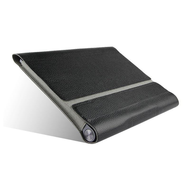 Cas de Vache Pour Lenovo YOGA Tab 3 10 X50L X50F De Protection couverture En Cuir Véritable Pour Le YOGA YT3-X50 X50L X50M 10.1 Tablet PC cas