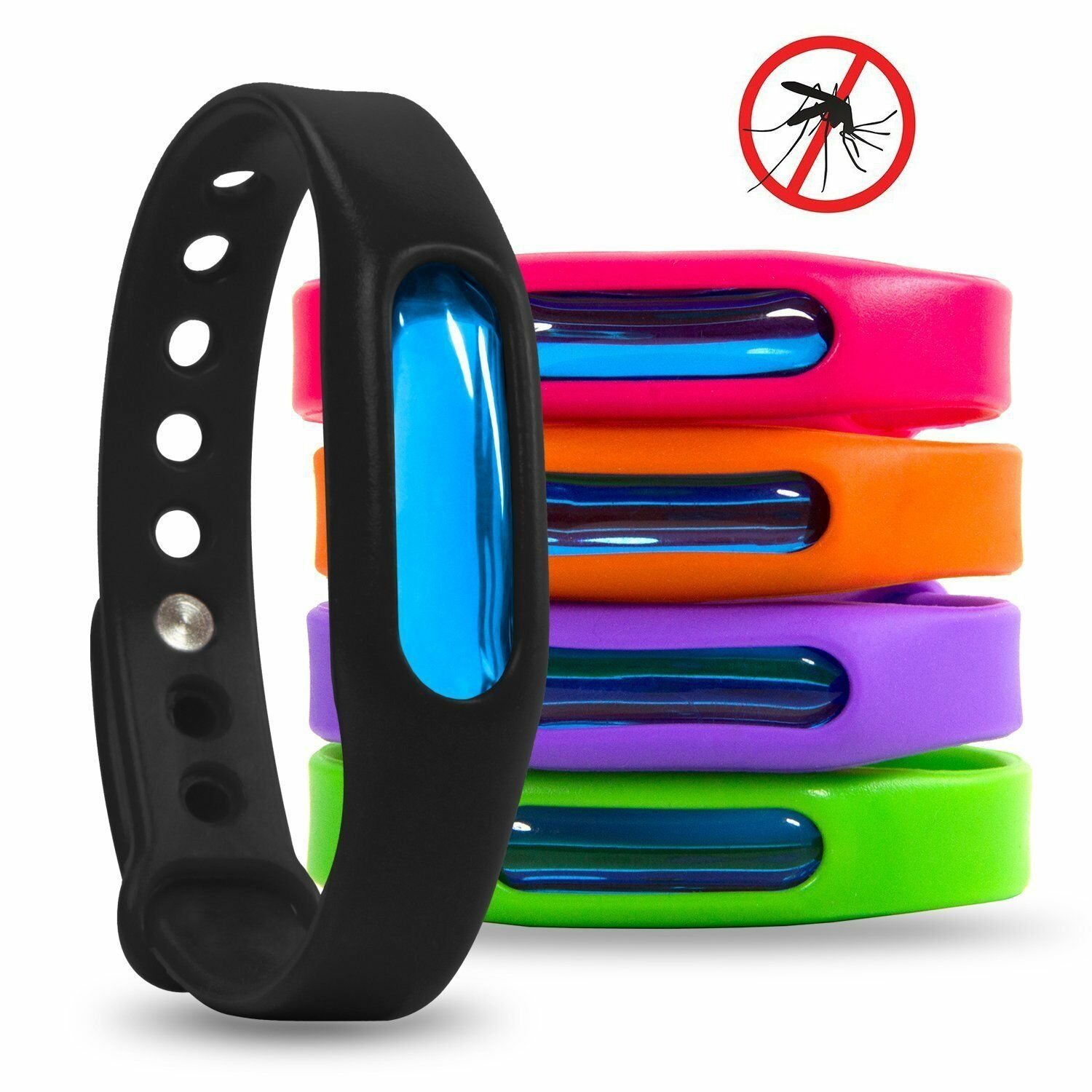 1pcs Bracelet Anti Mosquito Capsule Pest Insect Bugs Control Mosquito Repellent Wristband For Kids Mosquito Killer
