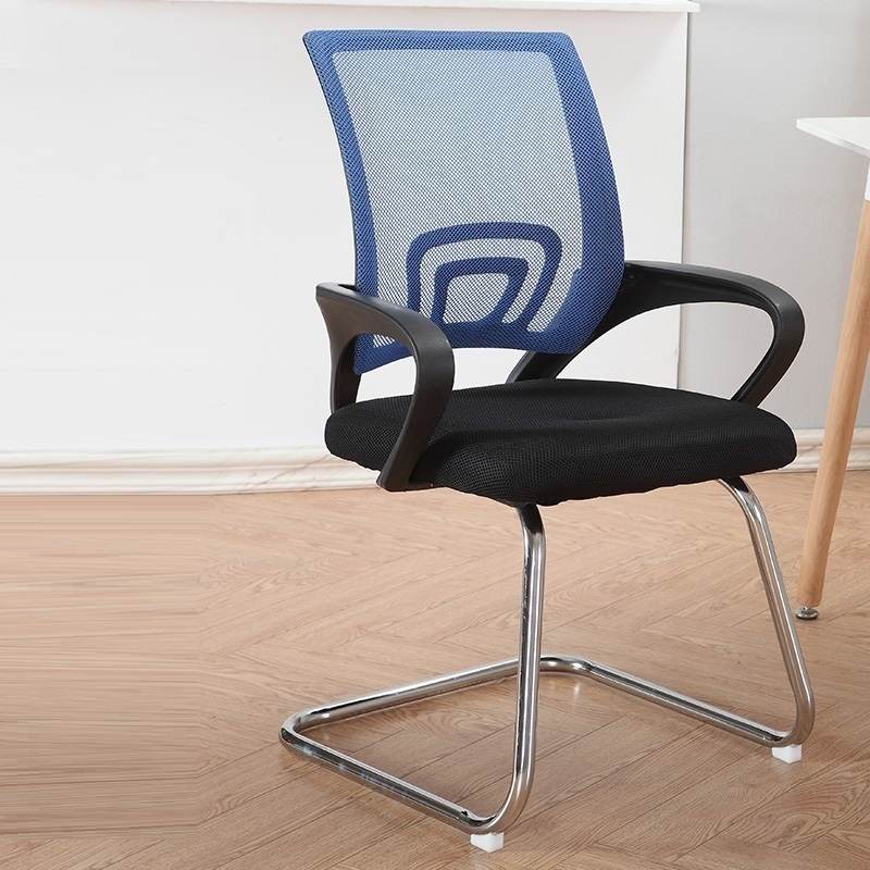 WL# 3883 Modern minimalist mesh computer household meeting office special offer staff bow chair lift and swivel ch computer chair home office chair mobile no handrail small lift swivel chair mesh staff chair