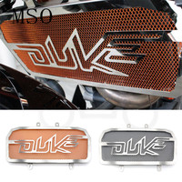 Motorcycle Accessories Parts Stainless Steel Radiator Grill Guard Cover Protector CNC Motorbike For KTM Duke 125 200 duke125