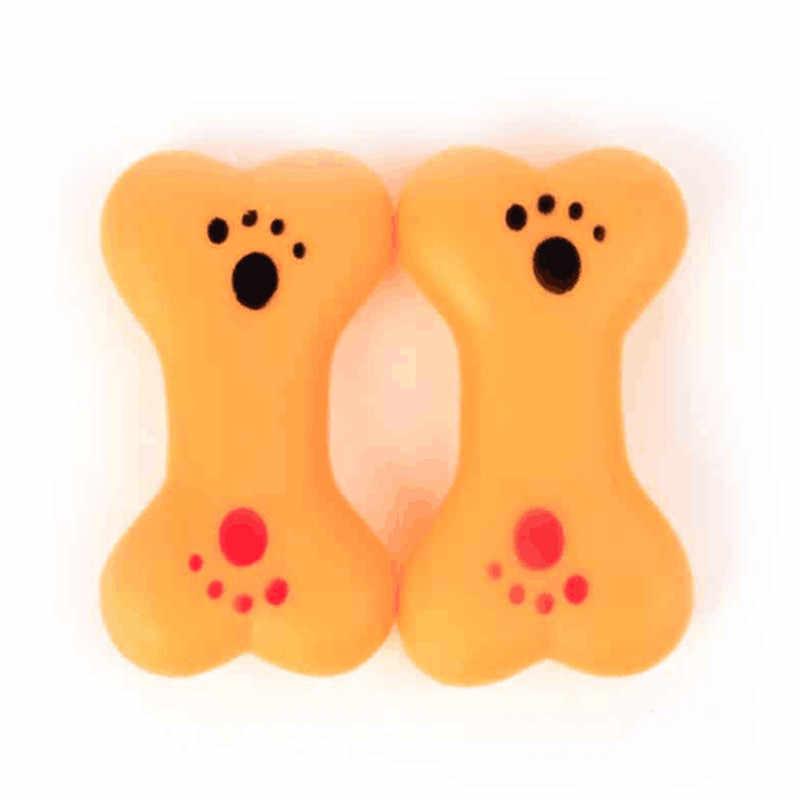 ทนกัดกระดูกสุนัขของเล่นลูกสุนัข Molars ยางเล่นการฝึกอบรมฟันยางพลาสติกความร้อนสัตว์เลี้ยงของเล่นสุนัข