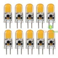 5/10ピースgy6.35 cobカプセルled電球2.5ワット置き換えるハロゲンライトランプハロゲン交換電球ac/dc 12ボル