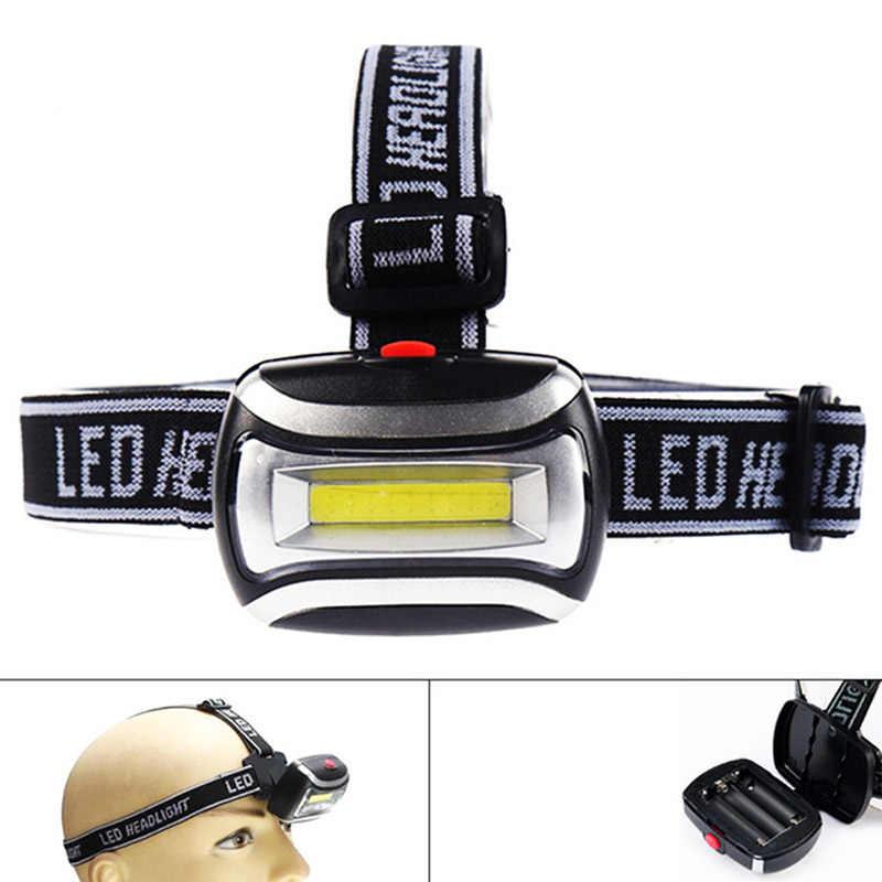 Impermeable LED Mini COB Faro Pesca exterior camping montar luz rotar guardafaro lámpara frontal lámpara antorcha dropshipping
