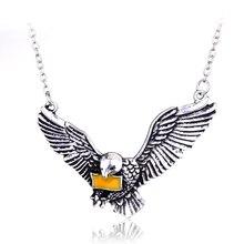 dongsheng Harry Necklace Vintage Owl Post Necklace With Hogwarts Acceptance Letter Pendant Locket Necklace -30